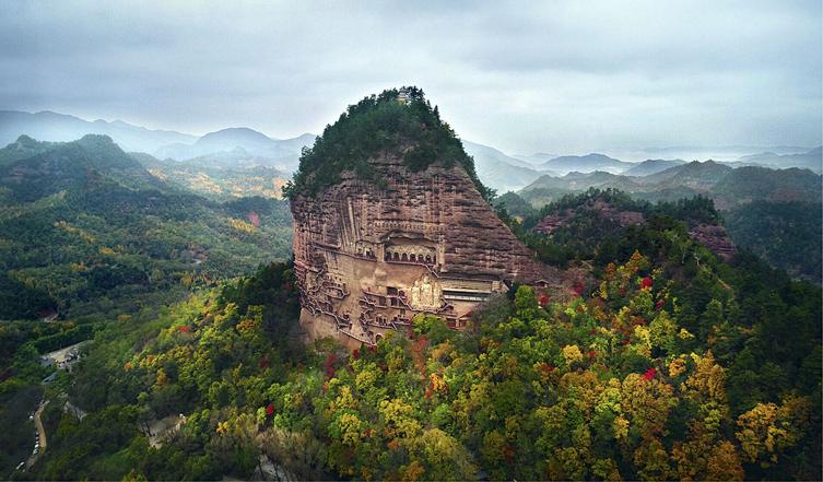 甘肃旅游丨麦积山风景名胜区 移步换景宛若仙境